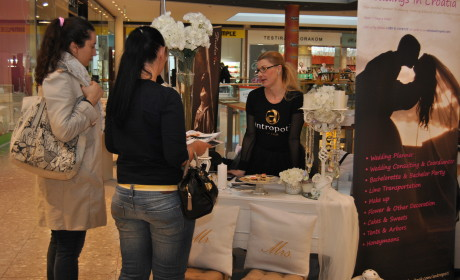 "Dani vjenčanja – ""Wedding vikend"" Garden mall 2014"
